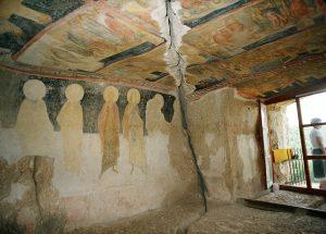 Ivanovo Rock Churches UNESCO site Bulgaria