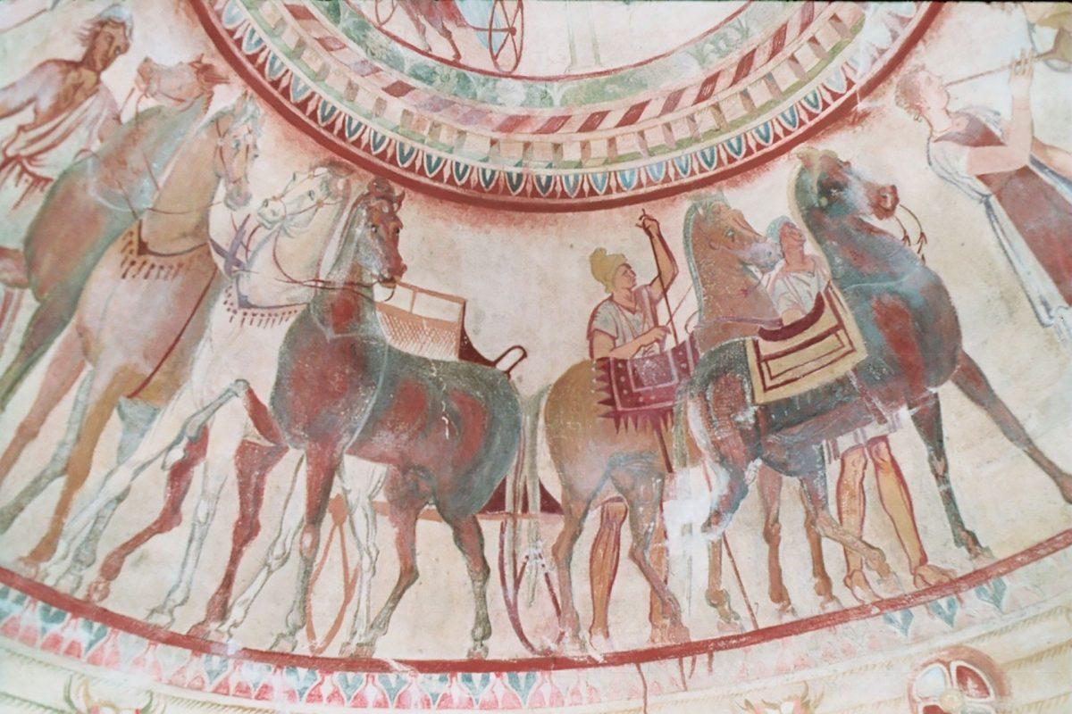 Kazanlak-Thracian Tomb-frescoes
