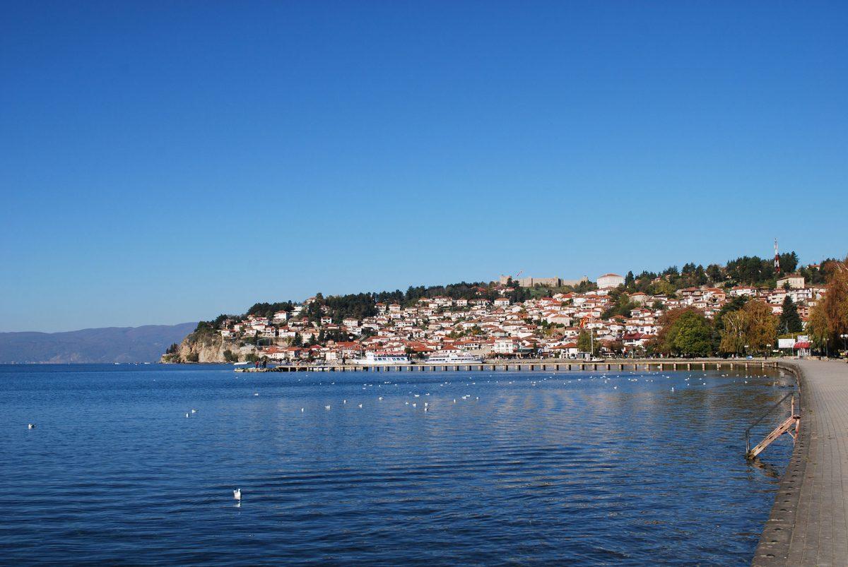 Ohrid-at-Sunrise