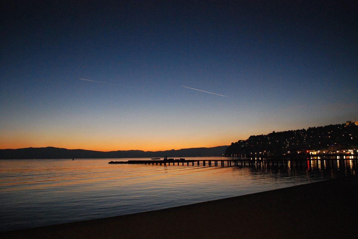 Ohrid-at-Sunset