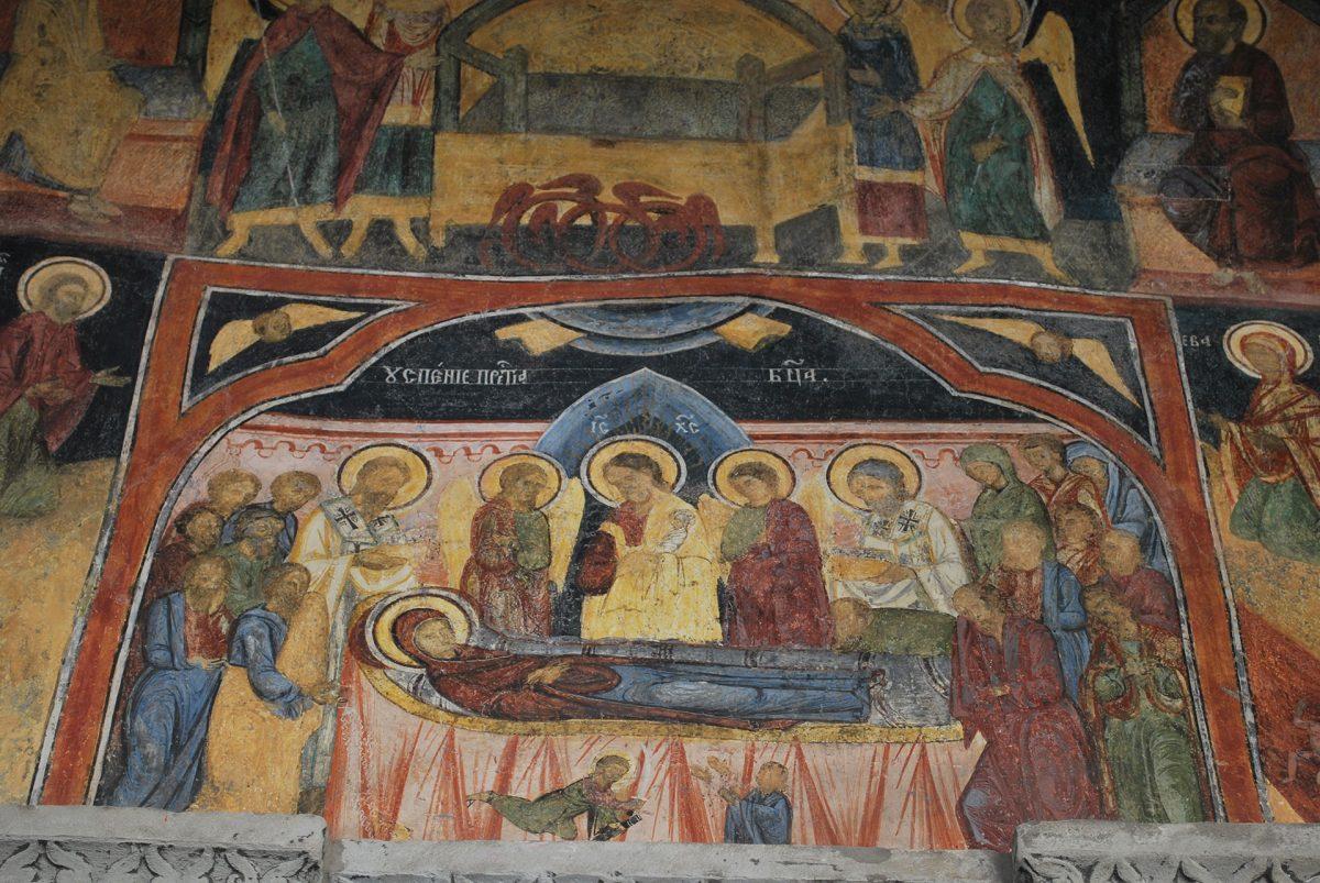 Romania-Monastery-Sinaia-fresco