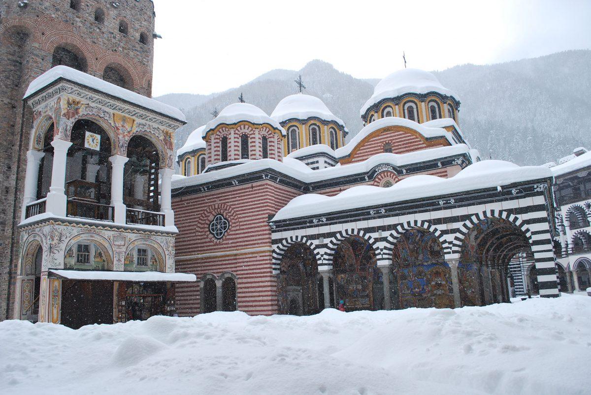 Rila-Monastery-in-Snow