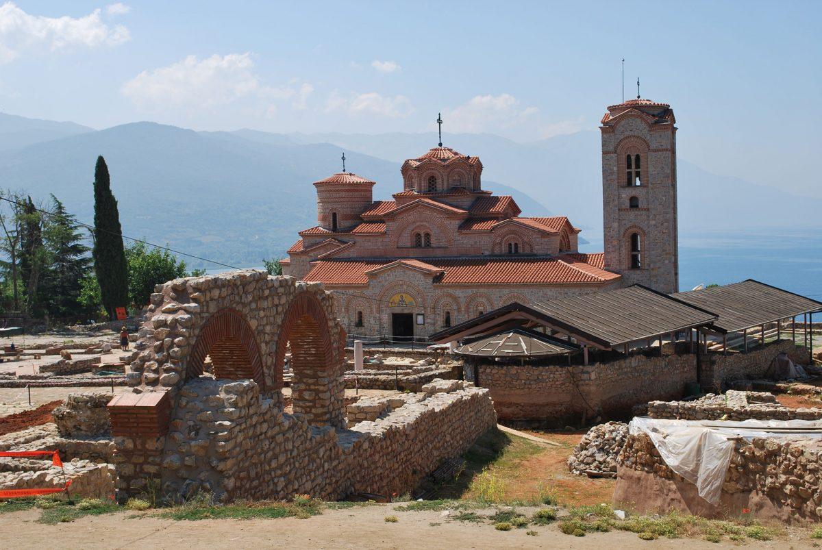 Ohrid-St-Kliment-monastery