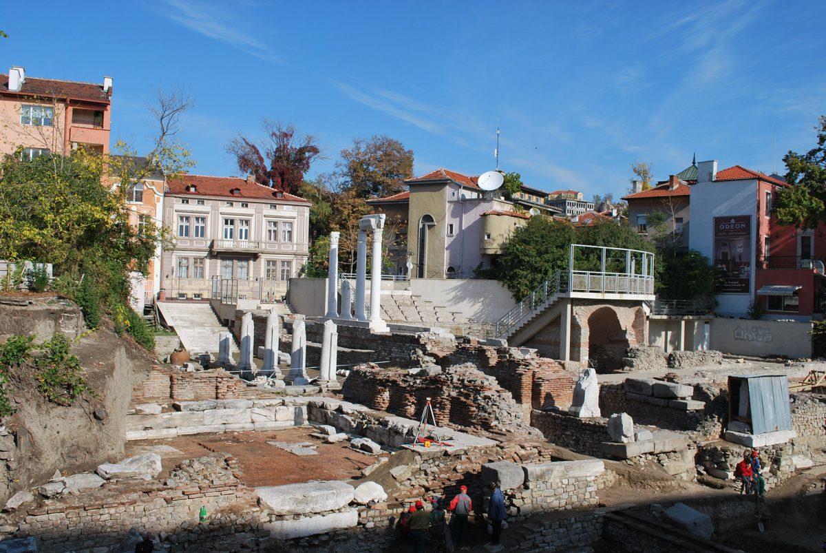 Ancient-Odeon-Plovdiv-excavations