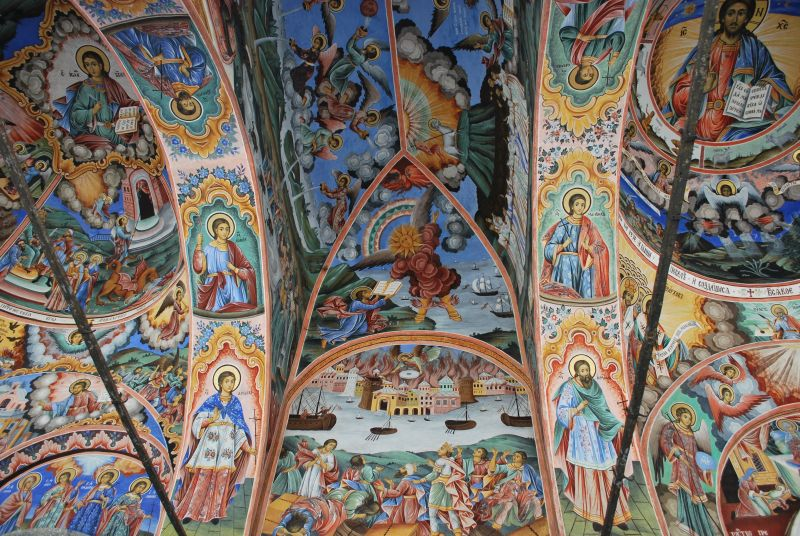 Rilski_Rila MonasteryFrescoes