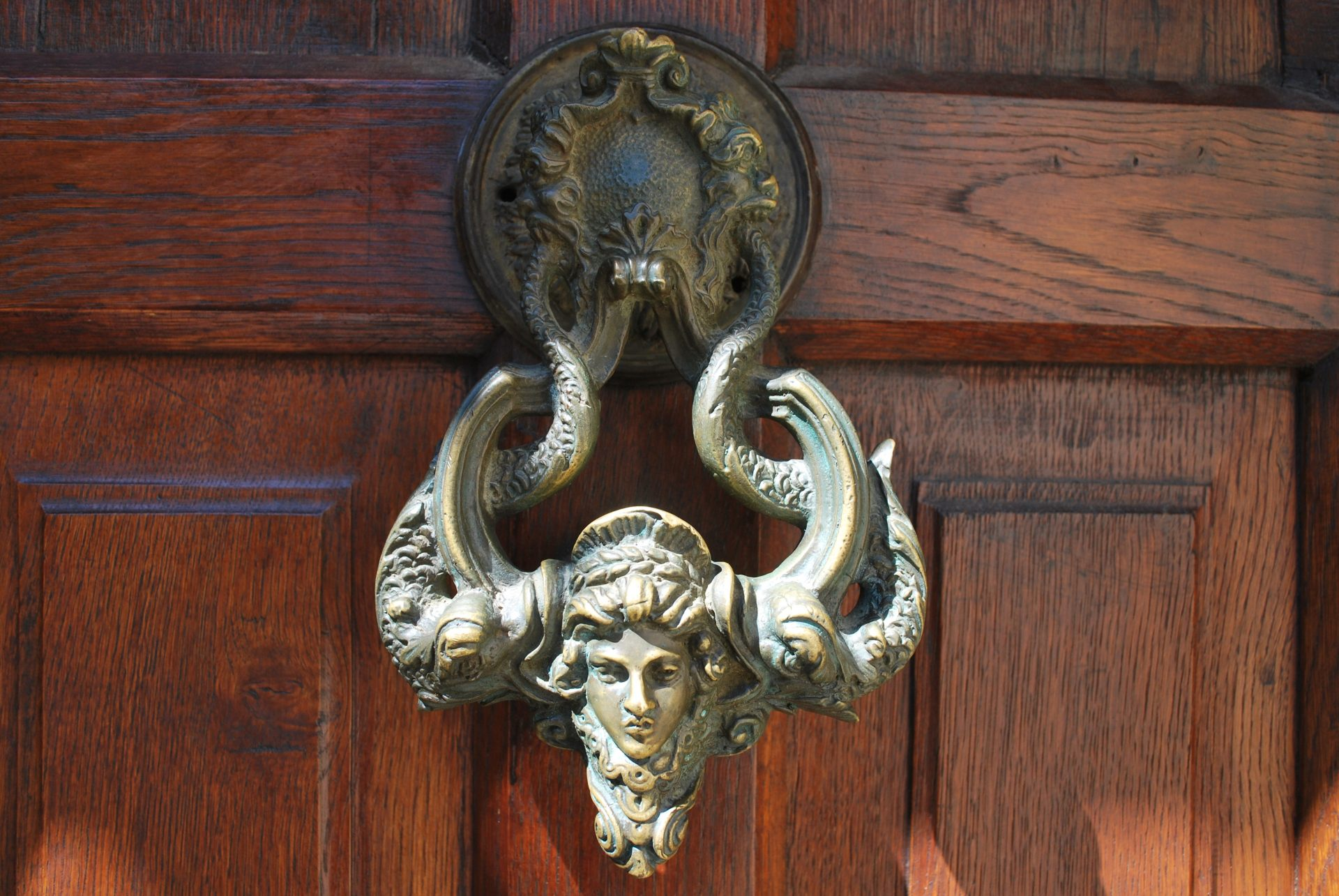 Bran Castle-entrance door