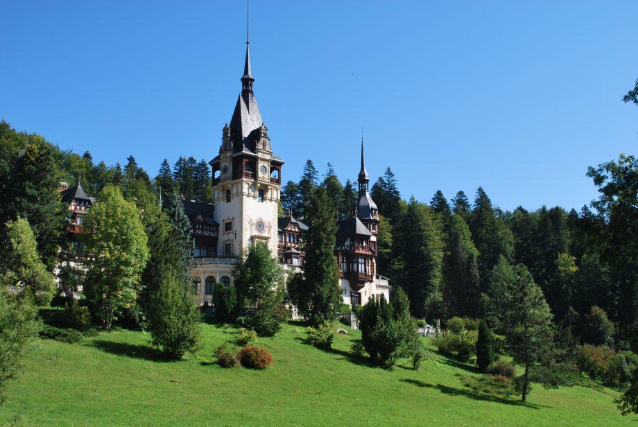 Romania-Bulgaria Tour-Peles Castle